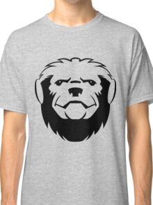 Honey badger head art Classic T-Shirt