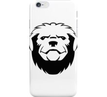 Honey badger head art iPhone Case/Skin