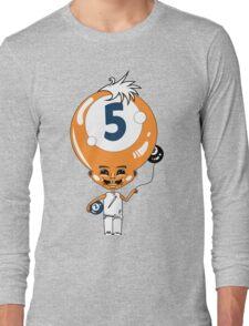 5 Head Long Sleeve T-Shirt