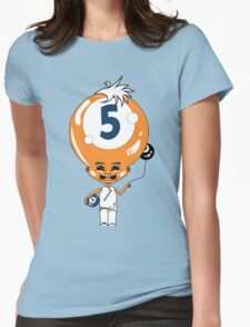 5 Head Womens Fitted T-Shirt