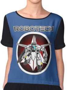 Robotech guardian Chiffon Top