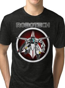 Robotech guardian Tri-blend T-Shirt