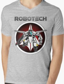 Robotech guardian Mens V-Neck T-Shirt