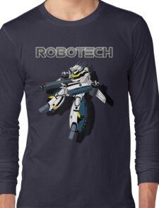 Robotech Valkyrie by Z4knafein Long Sleeve T-Shirt