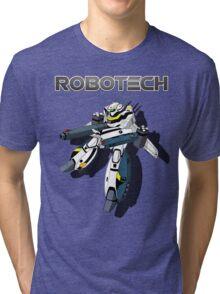 Robotech Valkyrie by Z4knafein Tri-blend T-Shirt