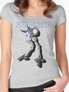Robotech macross zentradi zentran robot Women's Fitted Scoop T-Shirt