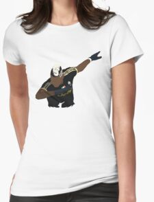 Paul Pogba Dabbing Womens Fitted T-Shirt
