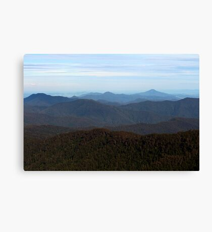 I Can See for Miles and Miles Canvas Print