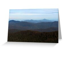 I Can See for Miles and Miles Greeting Card