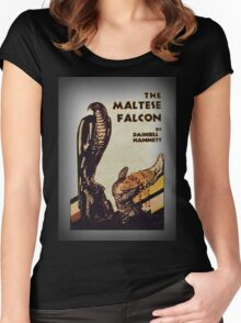 falcon # 2 Women's Fitted Scoop T-Shirt