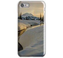 Sunset on Lake Tipsoo  iPhone Case/Skin