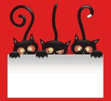 Amusing black cat Baby Tee