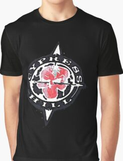 Cypress Hill logo Graphic T-Shirt
