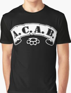 A. C. A. B Graphic T-Shirt