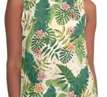 Tropical Pattern Contrast Tank
