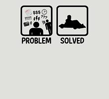 Problem Solved Go Kart Racing Unisex T-Shirt