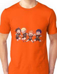 Haikyuu!! - Chibi Hinata and Friends Anime  Unisex T-Shirt