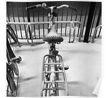 Snow bike Poster