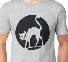Scary halloween cat Unisex T-Shirt