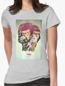 Planet of the Apes Poster Womens Fitted T-Shirt