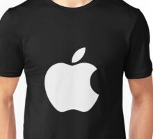 White Official Apple logo HD Unisex T-Shirt
