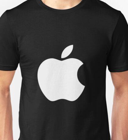White Official Apple logo HD Unisex T-Shirt