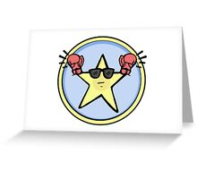 Fight Star Greeting Card