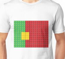 Lego - Portugal flag pattern of plastic parts Unisex T-Shirt