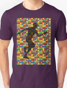 Lego - human body - running man  Unisex T-Shirt