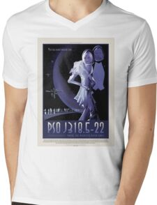 NASA - PSO J318 Mens V-Neck T-Shirt