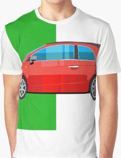 Fiat 500 pop art car Graphic T-Shirt