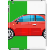 Fiat 500 pop art car iPad Case/Skin