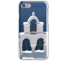 bells in white and blue iPhone Case/Skin