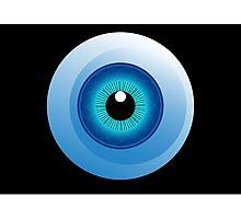 human eye design Photographic Print