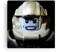 Lego Galaxy Trooper minifigure Canvas Print