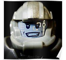 Lego Galaxy Trooper minifigure Poster