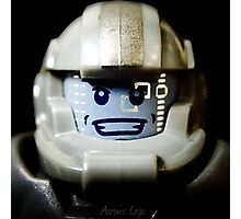 Lego Galaxy Trooper minifigure Photographic Print