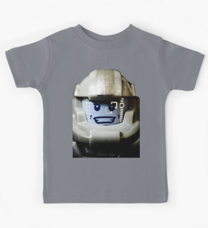 Lego Galaxy Trooper minifigure Kids Tee