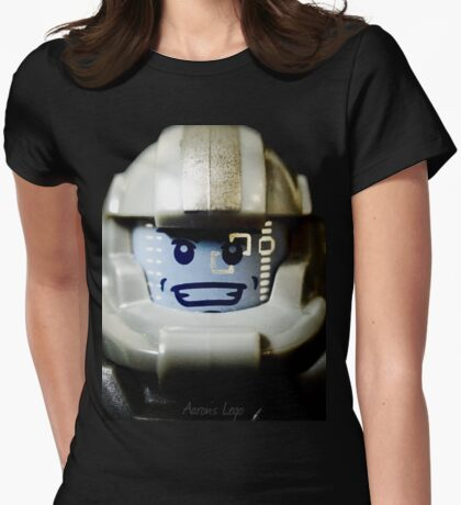 Lego Galaxy Trooper minifigure Womens Fitted T-Shirt