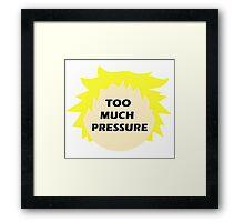 Tweek pressure (South Park) 2.0 Framed Print