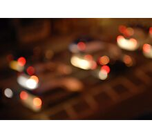Night Lights Photographic Print