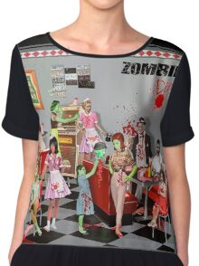 Zombie Diner Chiffon Top