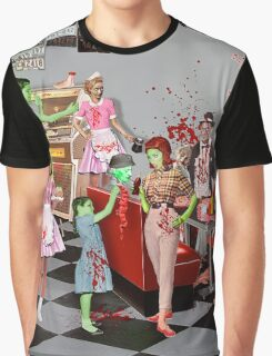 Zombie Diner Graphic T-Shirt
