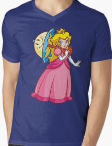 Princess Peach! - Perry Mens V-Neck T-Shirt