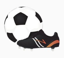 Sports shoe and football Baby Tee