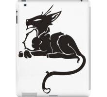Sleeping cat art iPad Case/Skin