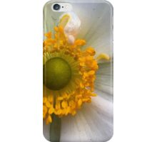 Blonde Anemone - Macro iPhone Case/Skin