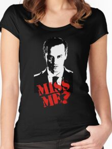 Sherlock - Miss Me (Moriarty) Women's Fitted Scoop T-Shirt