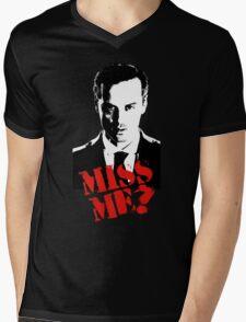 Sherlock - Miss Me (Moriarty) Mens V-Neck T-Shirt