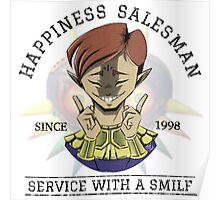 Certified Happiness Salesman  Poster